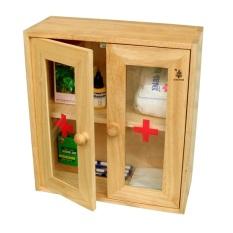 Tủ y tế cửa mica Gỗ Đức Thành 40241
