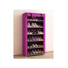 Tủ vải để giầy dép (màu tím)(Violet)