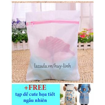 Túi giặt vuông 50x60cm + Free tạp dề cute giao màu ngẫu nhiên