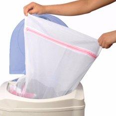 Túi lưới bảo vệ quần áo giặt máy khỏi nhàu nát, xù lông