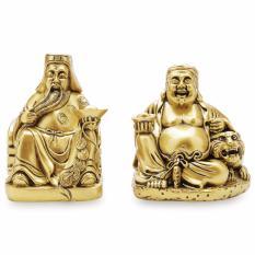 Tượng ông Địa Thần Tài lớn 16x28cm(Gold)