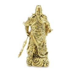 Tượng Quan Công đứng 31x15cm