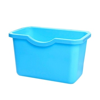 UINN Multifunctional Kitchen Plastic Garbage Trash Storage Box Hanging Type - intl