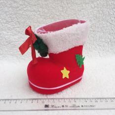 Ủng (Hài) đựng quà ông già Noel trang trí giáng sinh