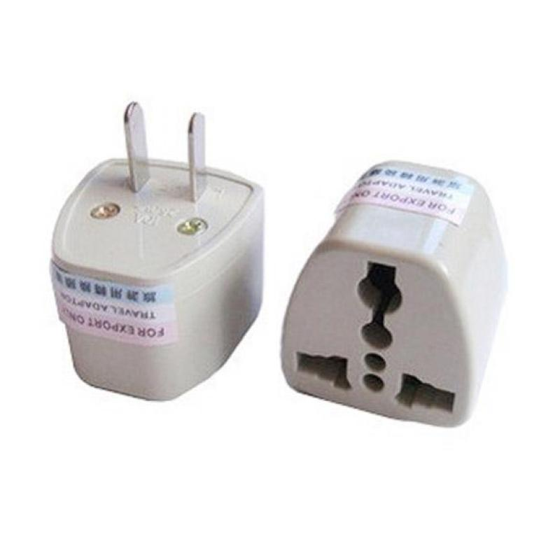 Bảng giá Universal Travel AC Wall Power Adapter China and UK Plug to US Plug Socket (Intl)