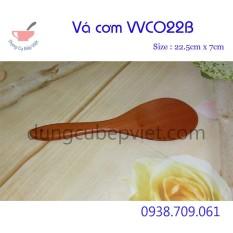 Compo 2 Muỗng xới cơm gỗ xà cừ VKU VVCO22B