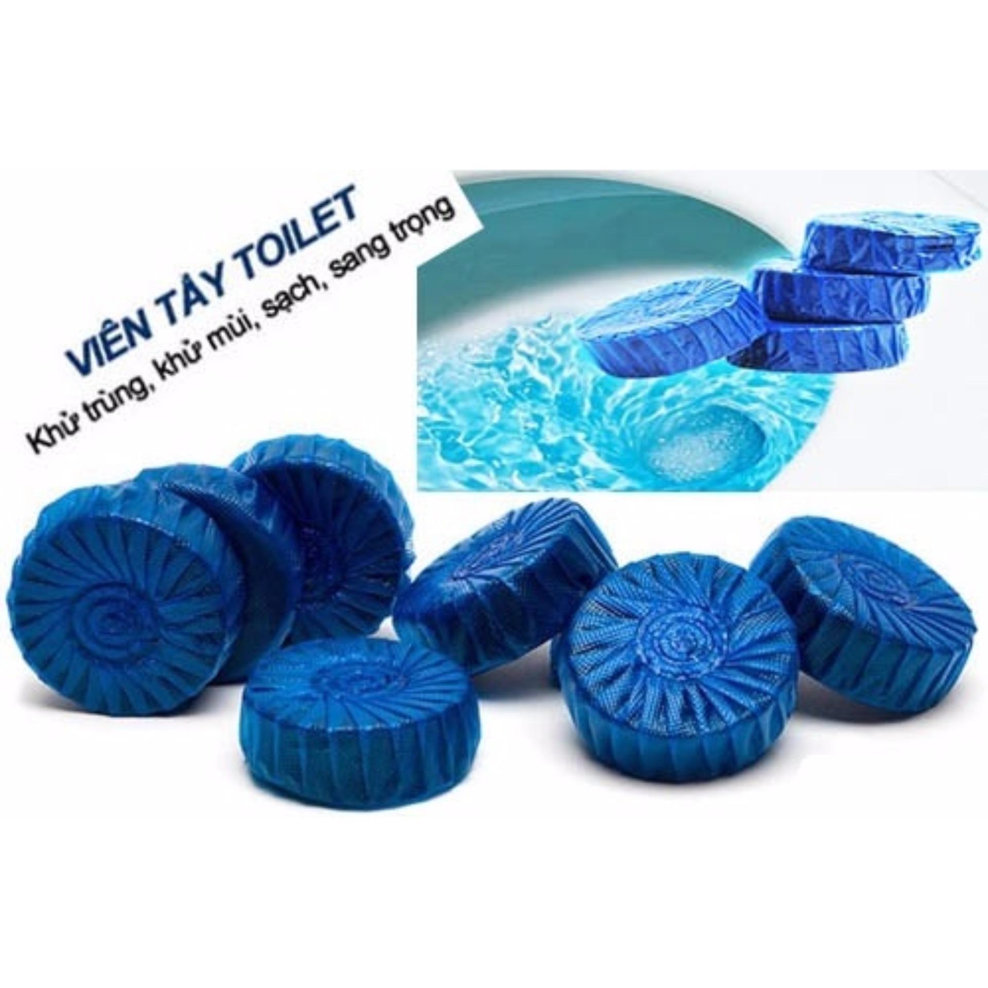 Viên thả bồn cầu khử mùi diệt khuẩn ( 10 viên)