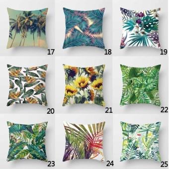 Giá Rẻ Nhất Vintage Flower Tropical Leaves Pillow Case Cushion Cover ...