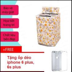 Vỏ bọc máy giặt cửa đứng cỡ lớn + Free ốp lưng iphone 6 plus, 6s plus