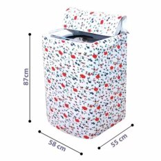 Áo trùm máy giặt vải dầy cửa trên kích thước 55x58x87cm