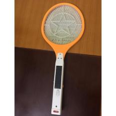 Vợt diệt muỗi sạc điện Fujika Solar Energy siêu tiện dụng ( vàng )