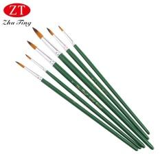Mua ZHUTING 6pcs Nylon Wool Drawing Brush Pen Acrylic Liner Painting Nail Art Tool - intl