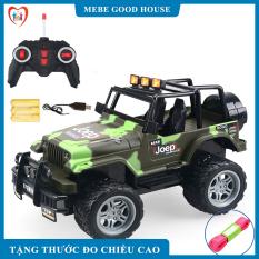 Đồ chơi xe điều khiển từ xa JEEP vượt mọi địa hình có sạc , món quà đặc biệt giành tặng cho bé