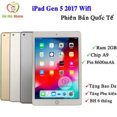 Máy Tính Bảng iPad Gen 5 – 2017 32Gb (Bản Wifi) Quốc Tế Zin Đẹp 99% – Màn 9.7 Siêu Đẹp / Ram 2Gb / Chip A9 2 nhân
