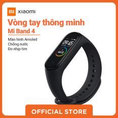 Xiaomi official Mi band 4 Đen_ Hàng chính hãng, Bảo hành bằng tem 12 tháng