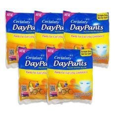 Combo 5 gói Tã Quần Người Lớn Certainty DayPants M/L/XL 1 miếng (dùng thử) – Thái Lan