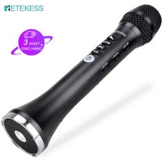 【New】retekess TR617 Micrô Bluetooth Không Dây 3-Trong-1 FM Di Động Cầm Tay Âm Thanh Kỳ Diệu Cho Trẻ Em Người Lớn Home KTV Đảng (Màu Đen)