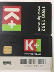 Thẻ trắng giãi mã truyền hình k+ chưa có thuê bao