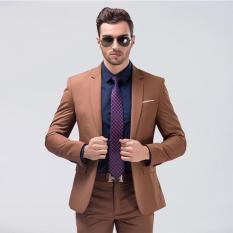 combo bộ vest nam thời trang trẻ trung lịch sự gồm quần và áo vest