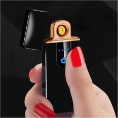 Bật Lửa Điện Cao Cấp Cảm Ứng Vân Tay Lighter Classic Fashionable