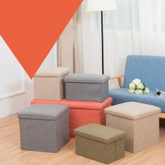 Ghế ngồi đa năng kiêm hộp đựng đồ, có thể gấp gọn KT 38x38x38cm