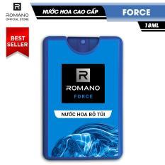Nước hoa bỏ túi Romano Force tươi mát năng động 18ml