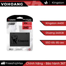 Ổ cứng SSD 240GB Kingston A400 – Chính hãng, tốc độ cao, bảo hành 3 năm