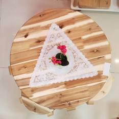 Bàn tròn Cafe, gỗ tràm Đức Thành 12151