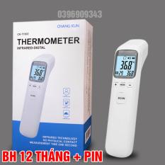 Nhiệt kế điện tử hồng ngoại cảm ứng đo trán đa năng CKT-1502