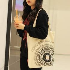 Túi Vải Nữ Đi Học, Túi Tote Nữ vải canvas túi đeo vai họa tiết phong cách Hàn Quốc