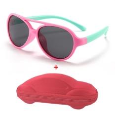 Mắt kính trẻ em CHỐNG GÃY MK03 S843 CHỐNG UV (tặng hộp đựng ô tô)
