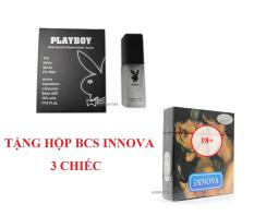 Bộ 1 hộp bao cao su INNOVA tặng 1 chai playboy 5ml