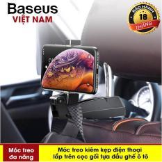 Phụ kiện ô tô – Móc treo đa năng Baseus vào Ghế Sau Xe hơi dùng treo đồ Giữ Điện Thoại Cho các dòng smartphone – Phân phối bởi Baseus Vietnam