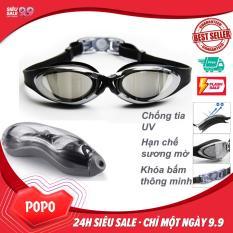 Kính bơi thời trang cao cấp G300, Tráng gương Chống lóa, Chống UV – POPO Collection