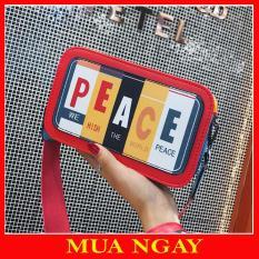 Túi Đeo Chéo Hộp Peace Cá Tính BT13