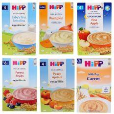 Bột Ăn Dặm Chứa Sữa Hipp Đủ Vị Cho Bé Từ 4 Tháng Tuổi Hàng Nhập Khẩu (Cnn Táo Tây 4M – 1 Hôp )