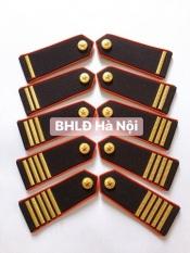 Cầu vai bảo vệ cao cấp viền đỏ (cúc gạch đồng)