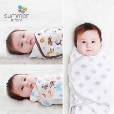 Ủ kén cotton summer họa tiết dễ thương cho bé
