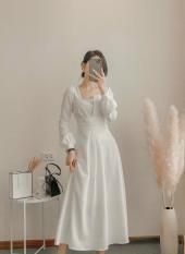 Đầm dự tiệc xòe tay phồng cách điệu Julliet Dress [HÀNG CÓ SẴN]
