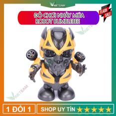 Đồ Chơi Robot Nhảy Múa Robot Bumblebee, Robot IRON MAN, Dance Hero – đồ chơi cho bé, Robot Biết Nhảy Và Hát Xoay 360 Độ