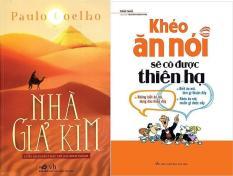 Combo 2 Sách: Nhà Giả Kim – Khéo Ăn Nói Sẽ Có Được Thiên Hạ