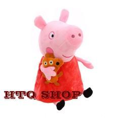 Chú lợn nhồi bông peppa HTQ – 40cm – peppa chị