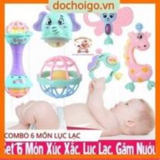 Đồ chơi lục lạc cầm tay hình các nhân vật hoạt hình cực vui nhộn dành cho bé Dochoigovn