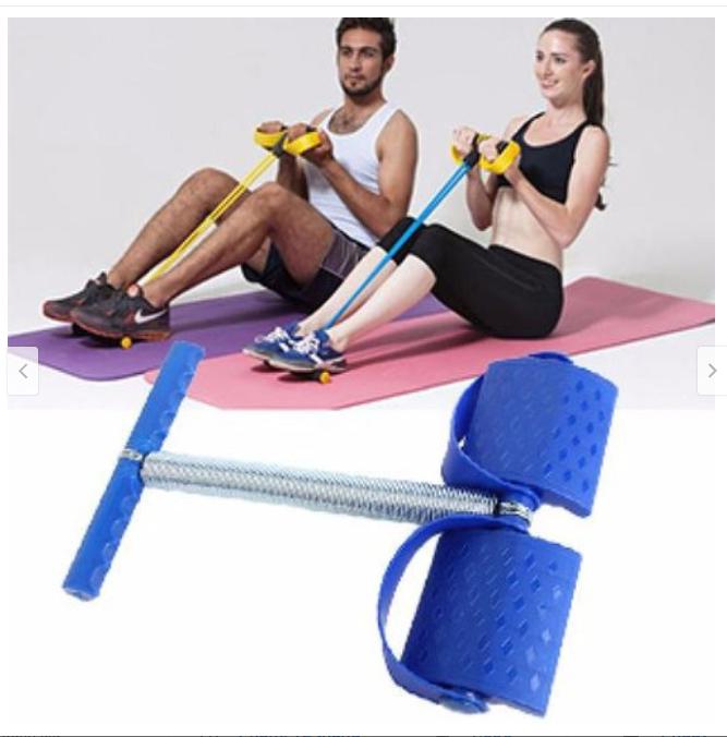 Dây tập Gym tại nhà, Tummy Trimmer Dụng cụ tập Gym tại nhà tiện lợi – Dụng cụ tập thể lực đa năng Benhome (Xanh)