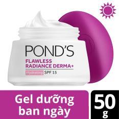 Gel dưỡng trắng da ban ngày Pond's Flawless Radiance Derma+ 50g