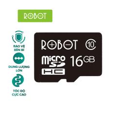 Thẻ Nhớ Micro SD MicroSDHC ROBOT TF Card 16Gb / 32Gb / 64GB Tốc độ xử lý cao l HÀNG CHÍNH HÃNG
