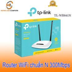 Bộ phát wifi – Router WiFi TPLink 841N 5 port tốc độ 300Mbps FPT phân phối