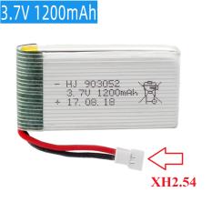 Pin sạc máy bay điều khiển từ xa 3.7V dung lượng cao 1200mAh cổng XH2.54