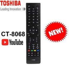 Điều Khiển TV Remote Tivi TOSHIBA Smart CT-8068 CÓ NÚT YOUTUBE HÀNG ZIN ĐẸP