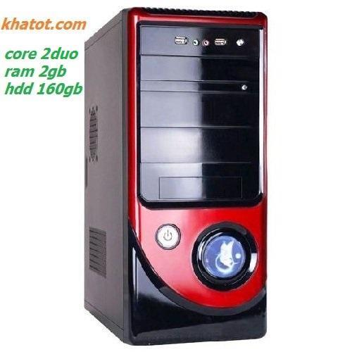 Dàn máy Core 2 Duo/ Ram 2gb/ Hdd 160gb